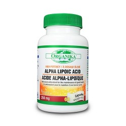 ALPHA LIPOIC ACID 250 Mg - ACIDO ALFA LIPOICO 250 Mg